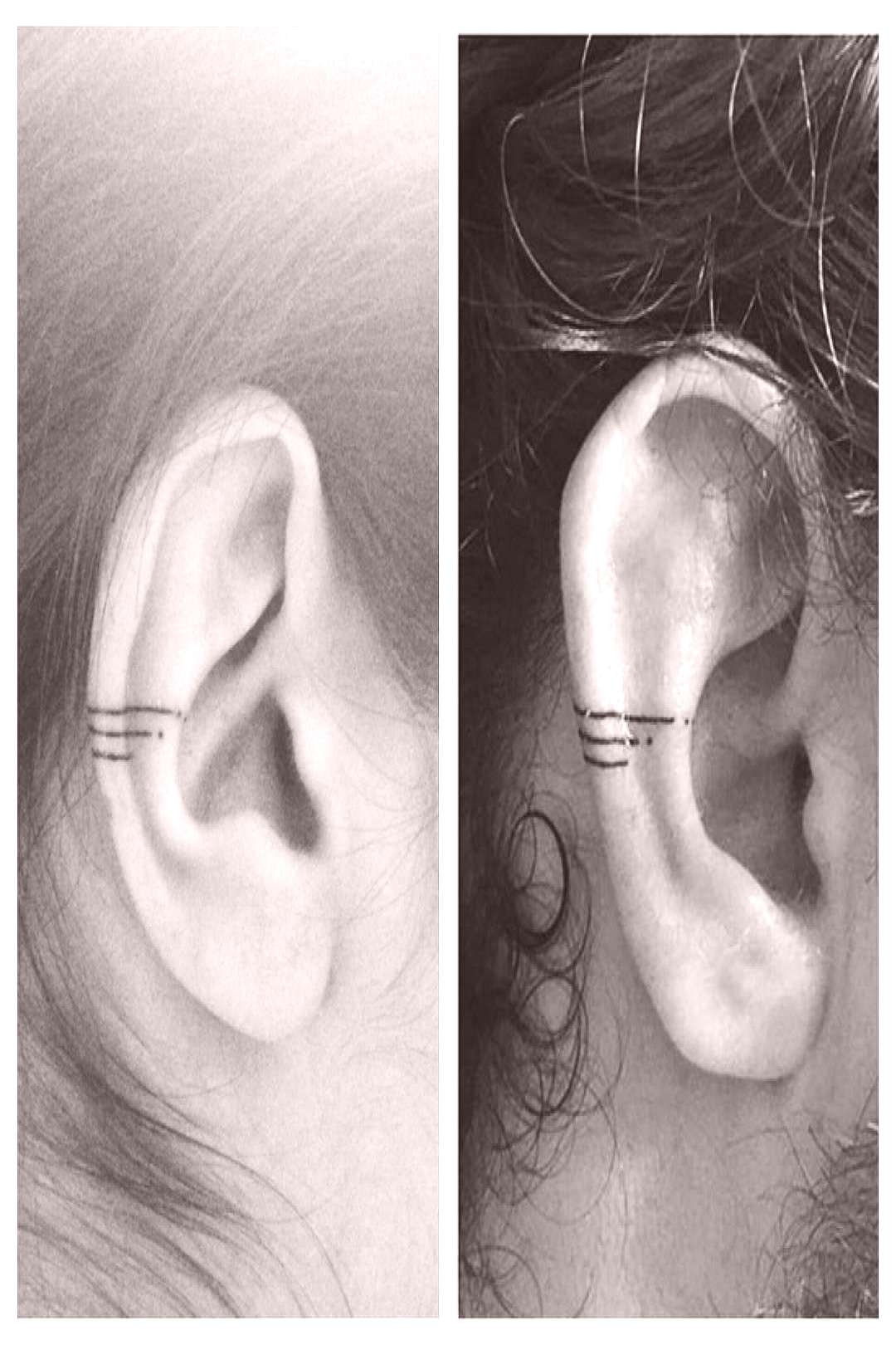 New trend conquers Instagram: Helix tattoos on the ear COSMOPOLITAN -  If the boring helix piercing