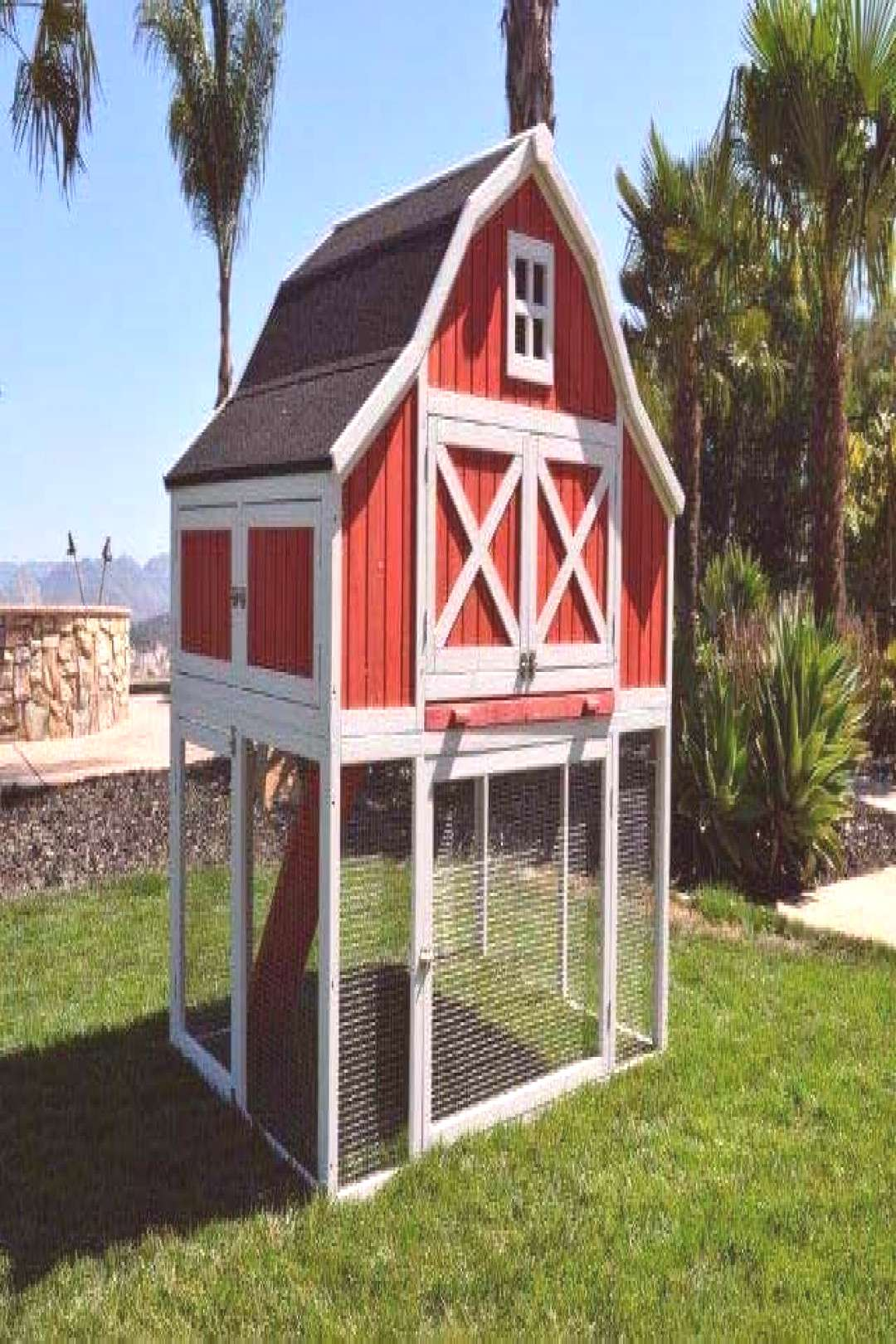 Omaha Chicken Coop Rugged Ranch - Coops Pens   Poultry Equipment   Poultry Health   Farm#chicken
