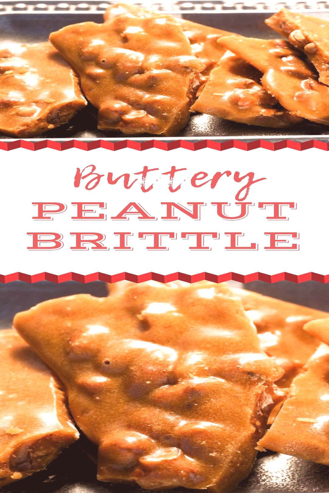 Peanut Brittle is a holiday classic but it's made even better when you add extra butter to the re