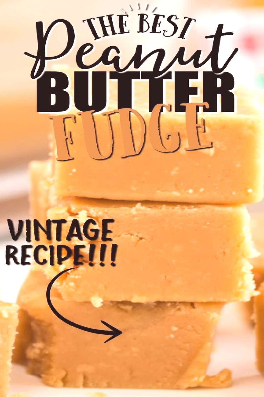 Peanut Butter Fudge Rich and creamy, this peanut butter fudge is irresistible. It takes only a hand