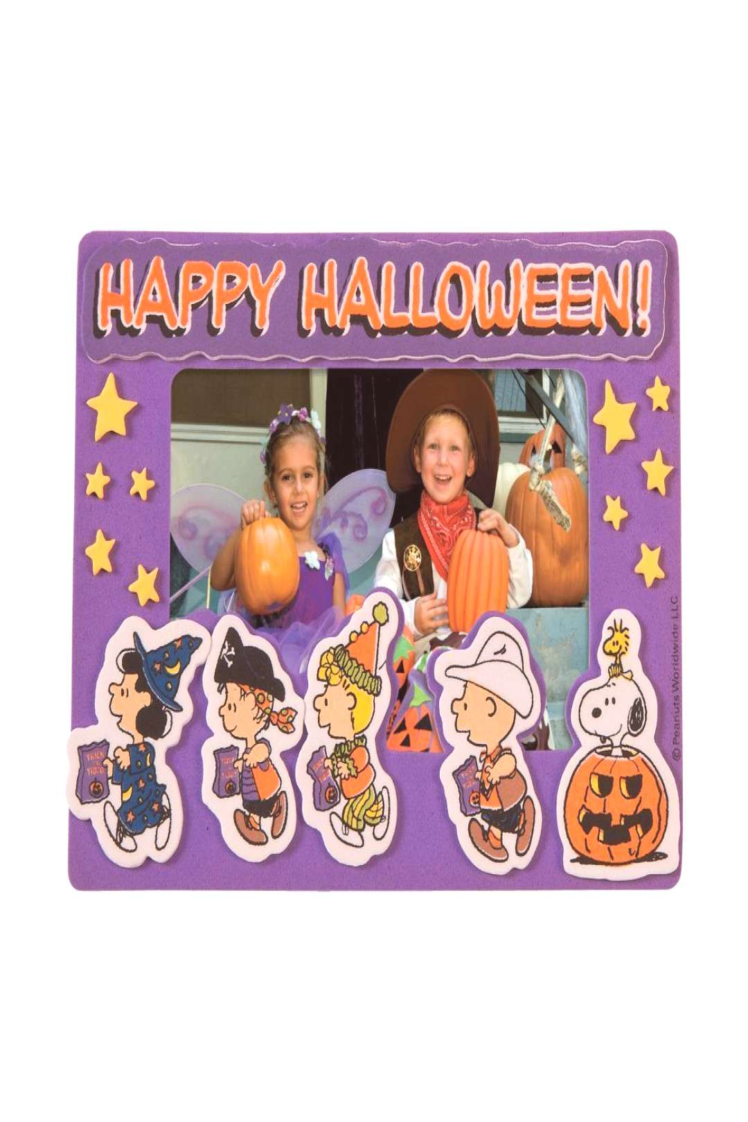 Peanuts® Halloween Picture Frame Magnet Craft Kit#craft
