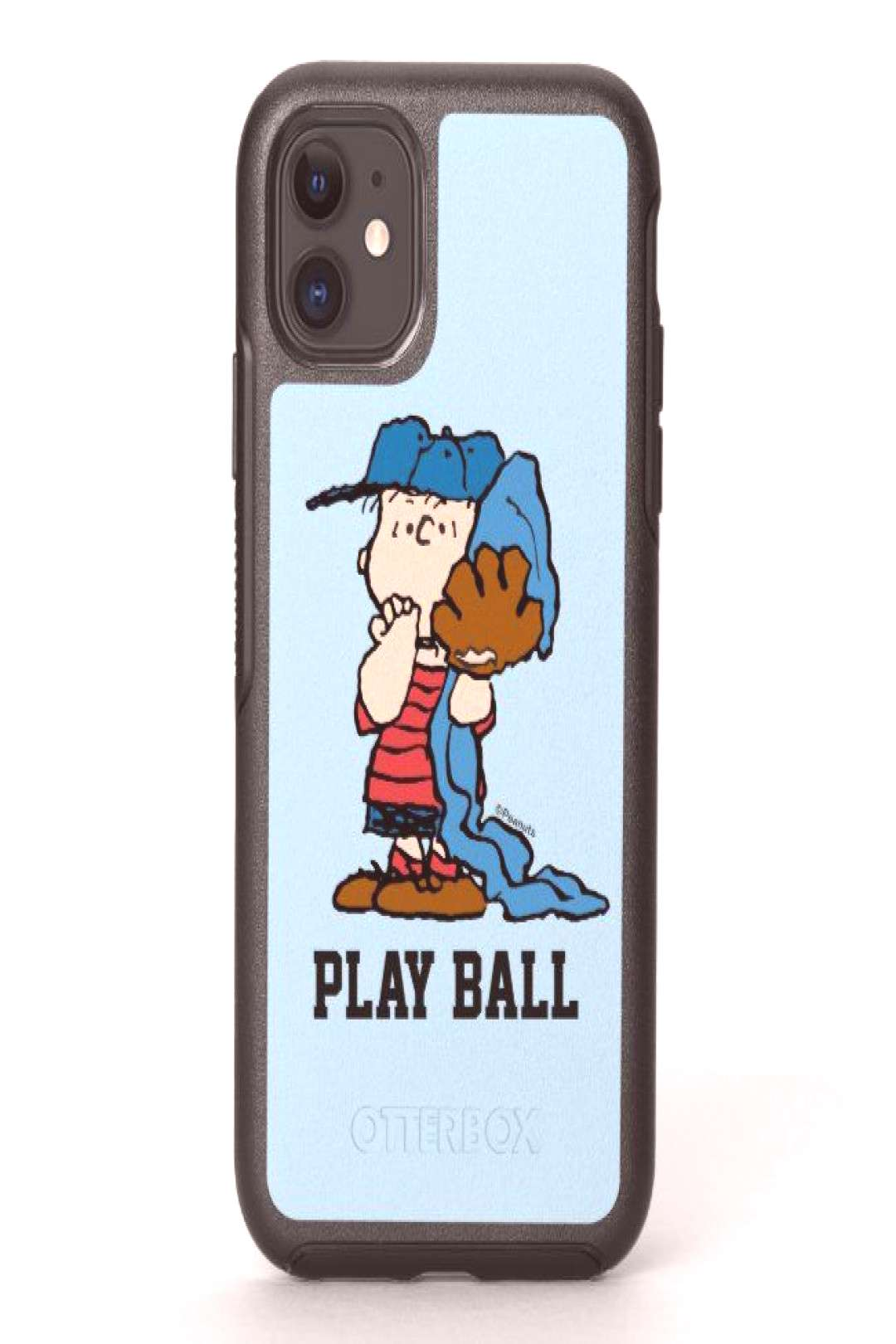 Peanuts | Linus In His Baseball Gear OtterBox Symmetry iPhone 11 Case
