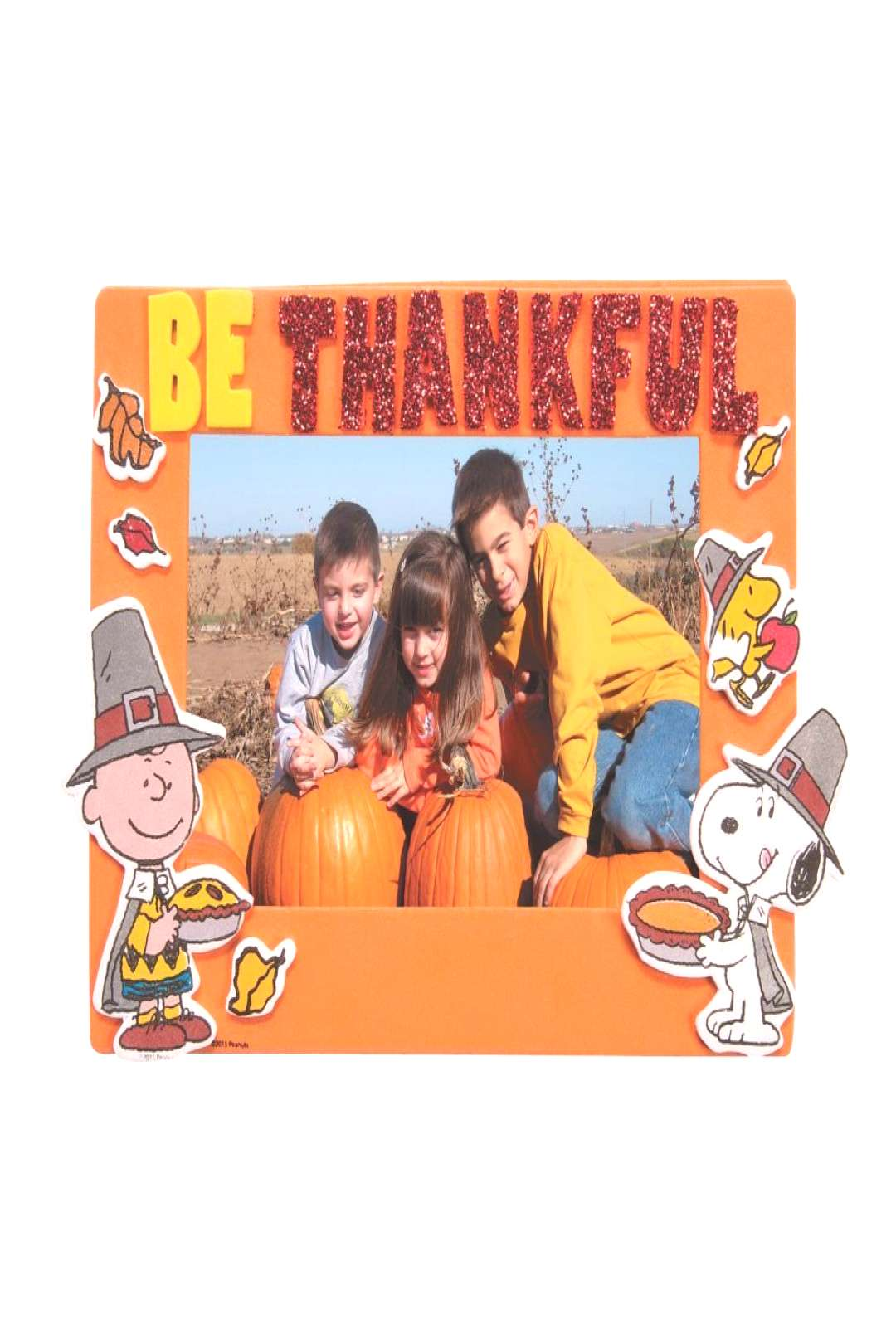 Peanuts® Thanksgiving Picture Frame Magnet Craft Kit | Oriental Trading Peanuts® Thanksgiving Pi
