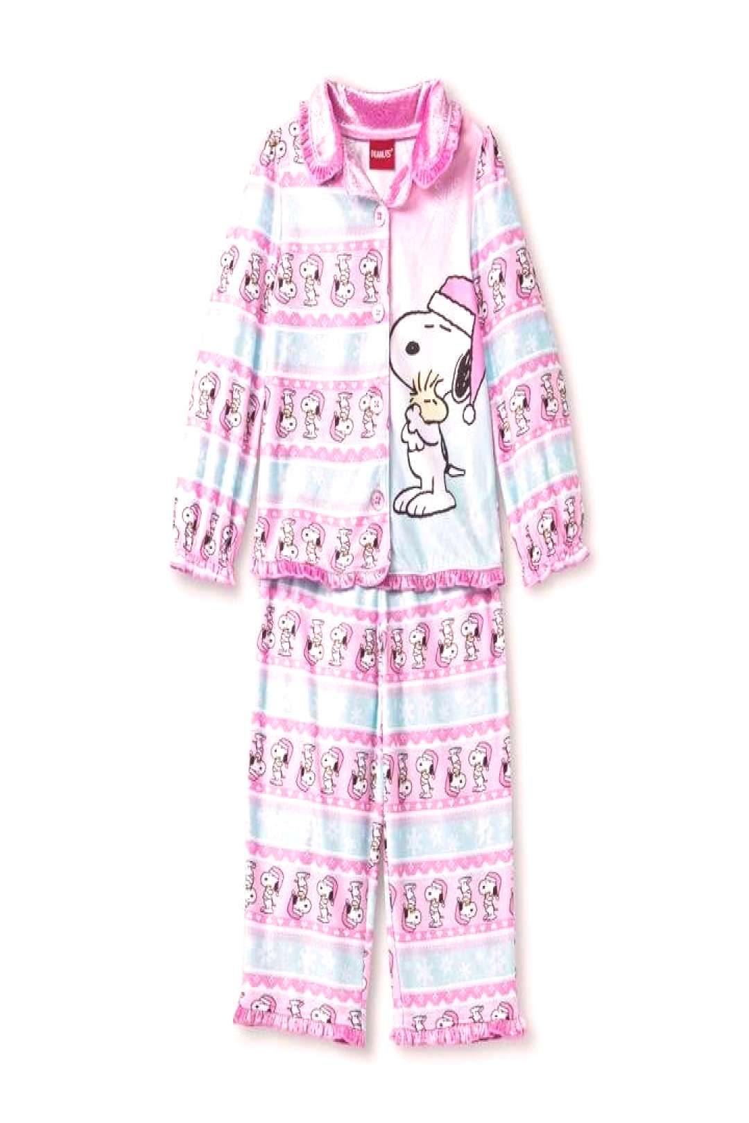 Peanuts Toddler Girls' Coat Pajama Set - ,