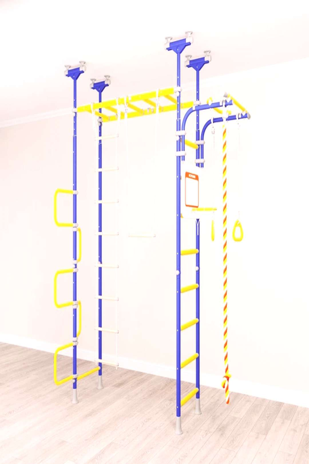PEGASUS Kids Indoor Home Playground/Gym -   -