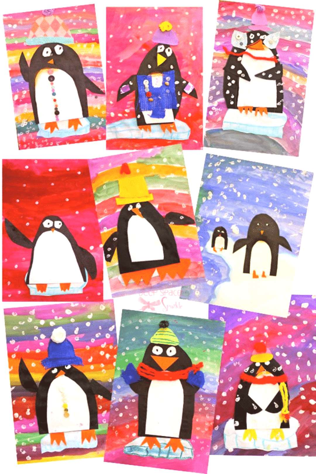 Penguin books are great non-fiction read alouds to use during January and February. Here are lots