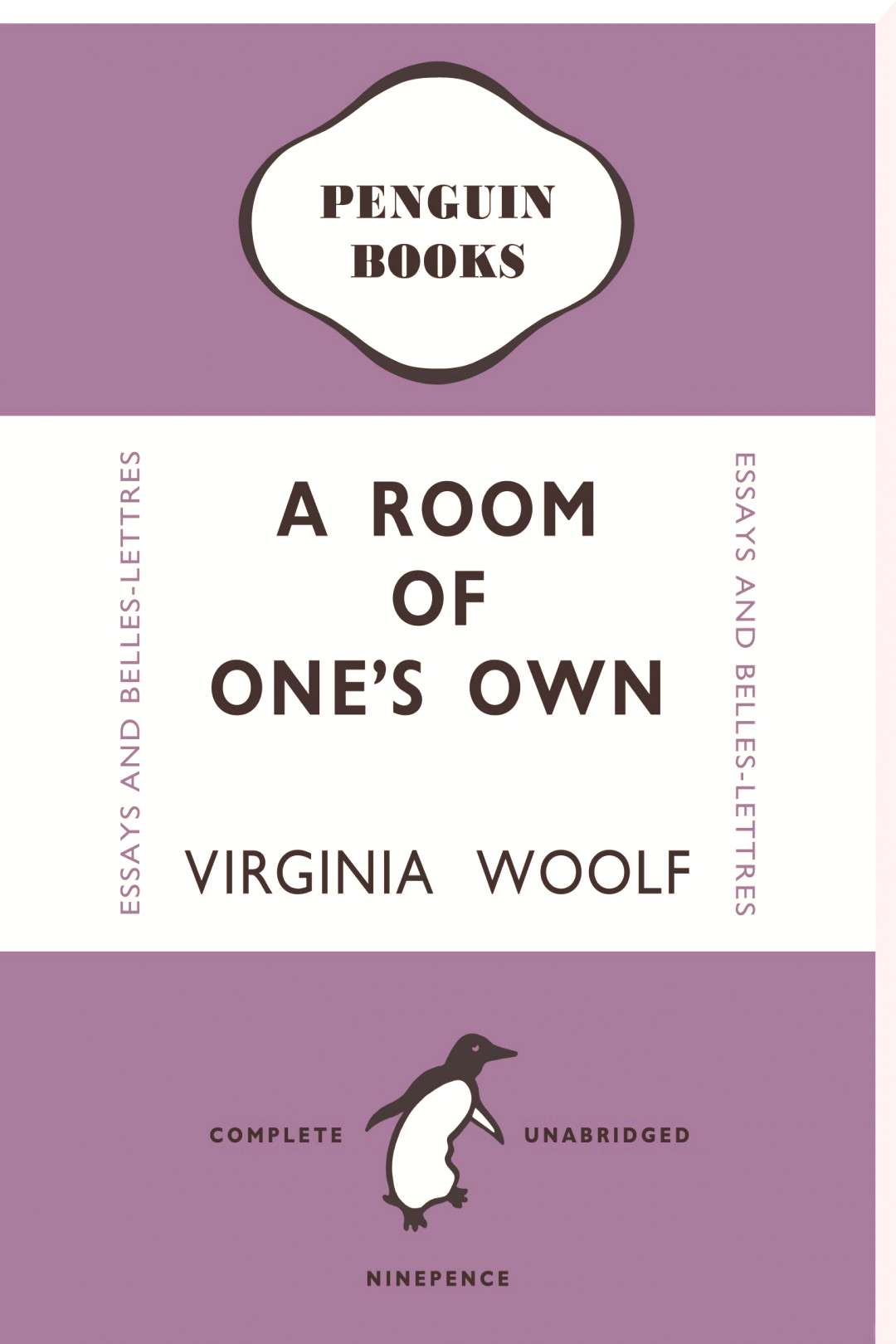 Penguin Books - Virginia Woolf A Room Of One's Own