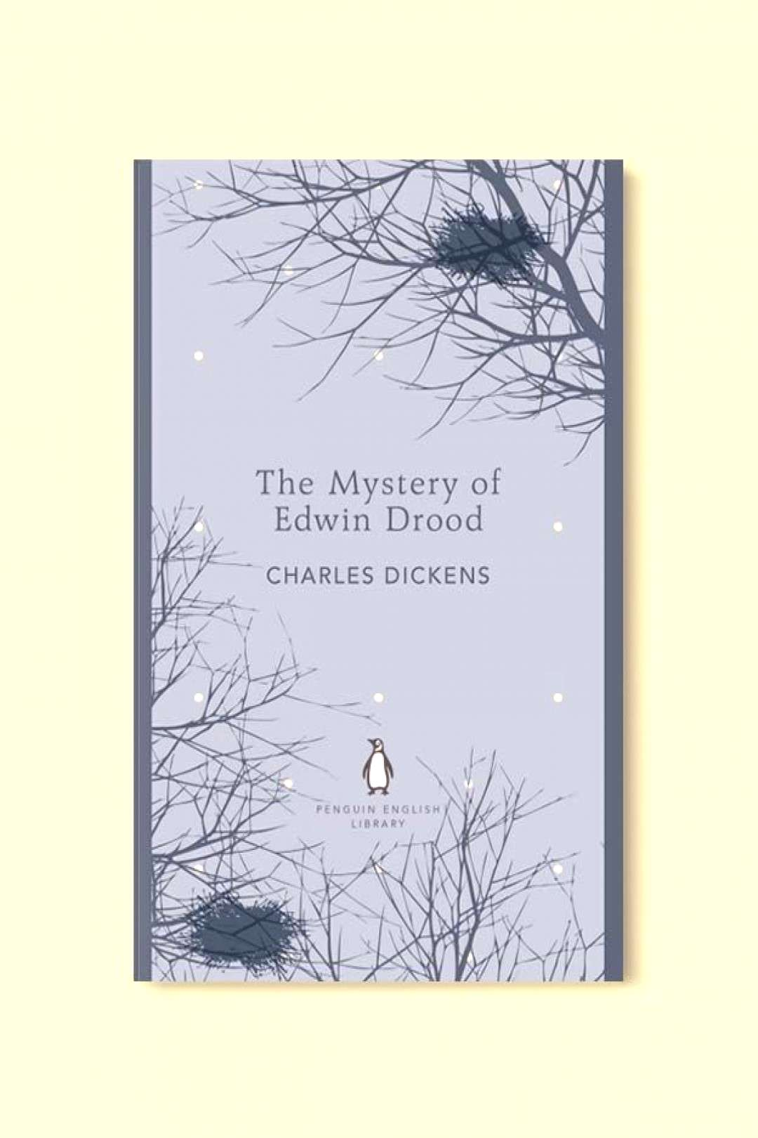 Penguin English Library - The Mystery of Edwin Drood by Charles Dickens. penguin books, penguin cla