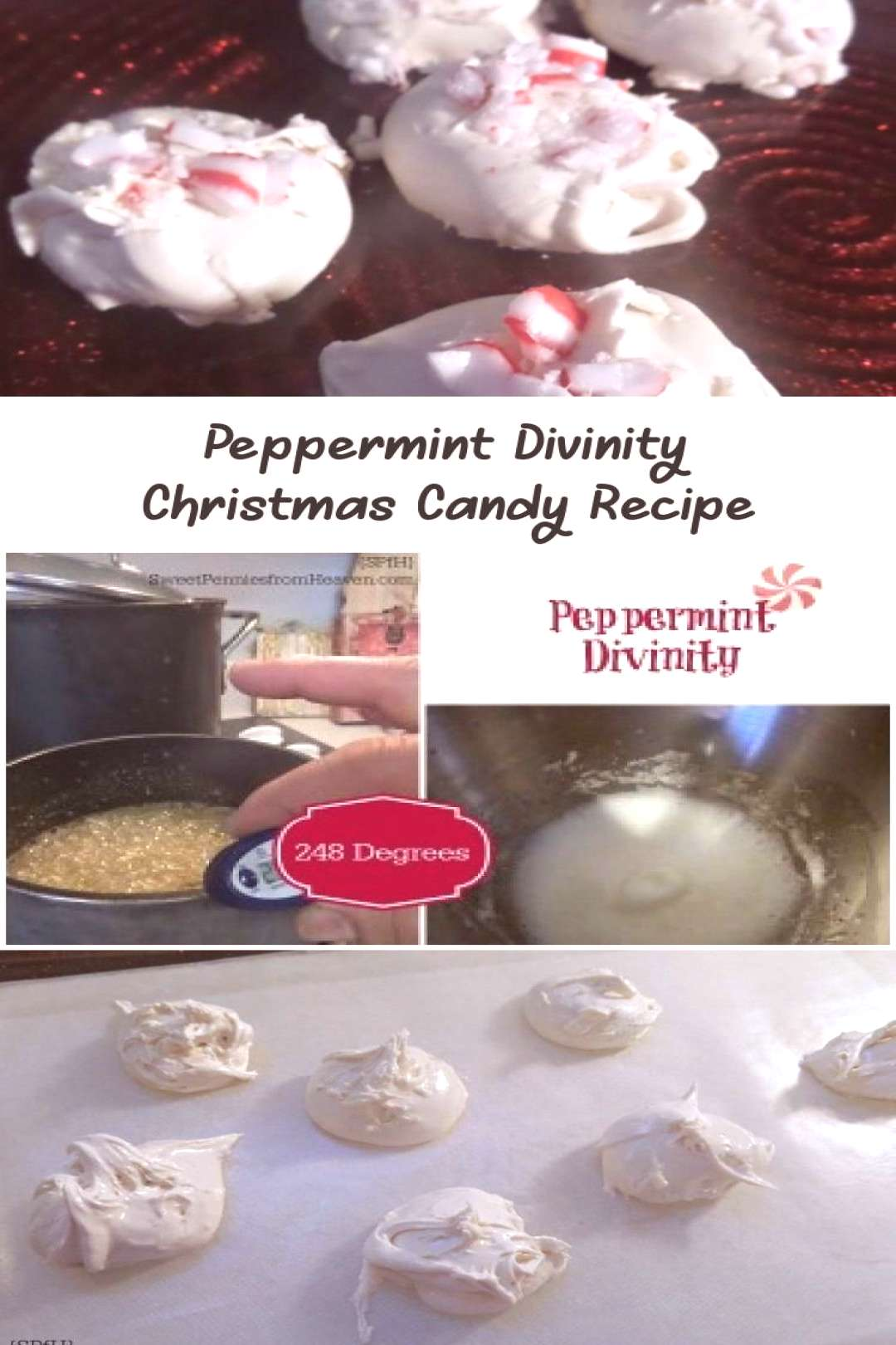 Peppermint Divinity - Sweet Pennies from Heaven - Recette Divinity - Divinity… ... -  Divinité d