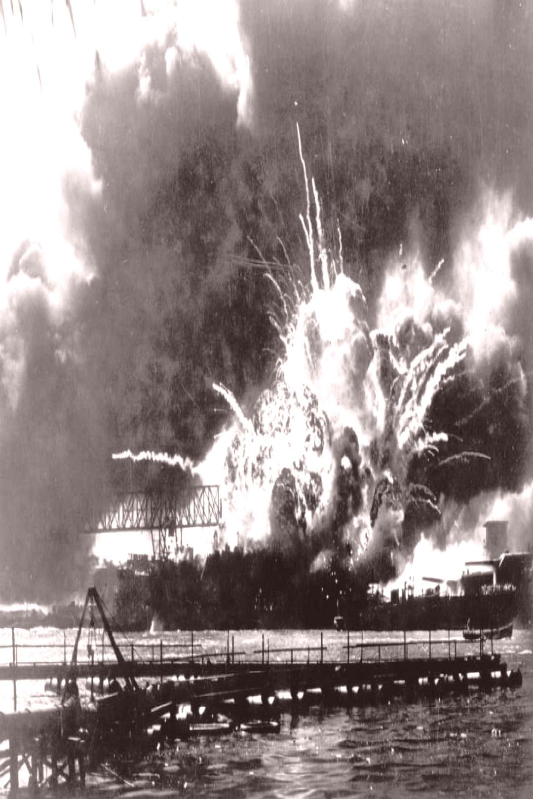 Photos: Attack on Pearl Harbor, December 7, 1941