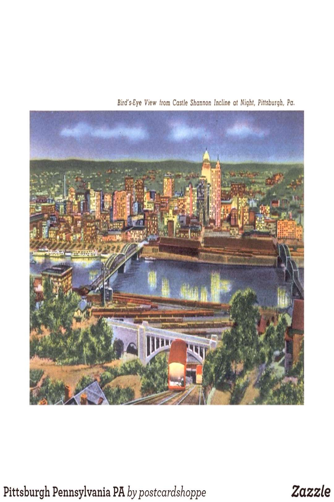 Pittsburgh Pennsylvania PA Postcard