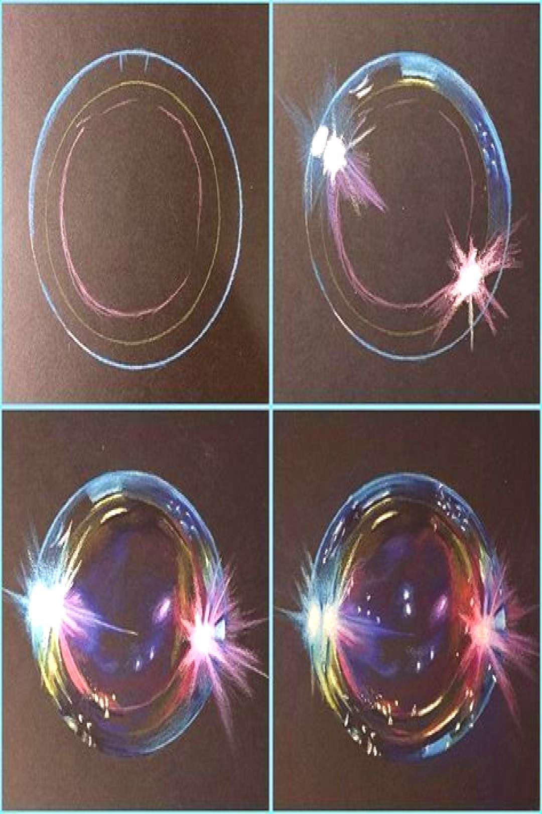 Progress pictures of my bubble drawing! Prismacolor pens on Strathmore Artagain ... - Paint Emma Fi
