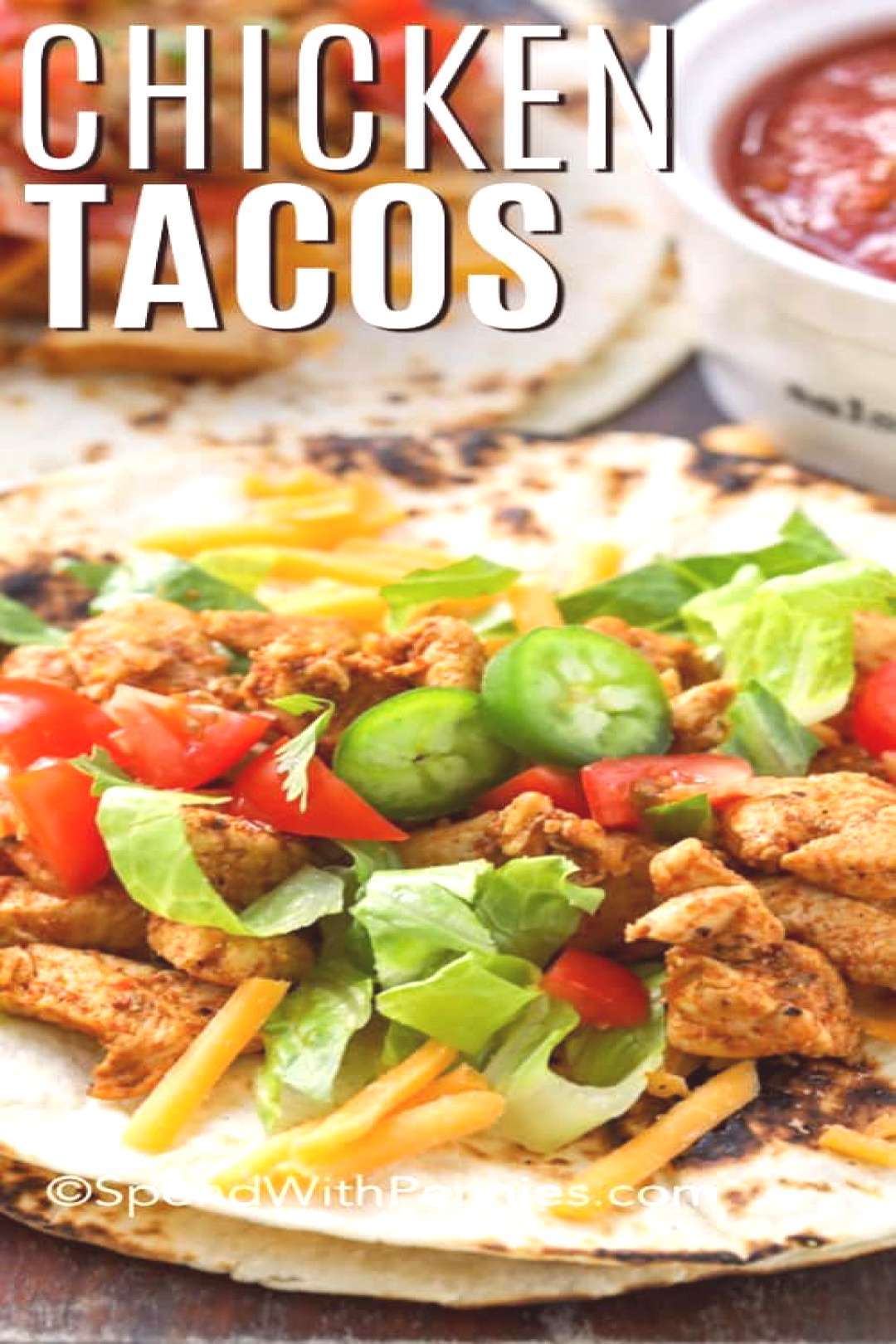 Quick Chicken Tacos - Spend With Pennies#chicken