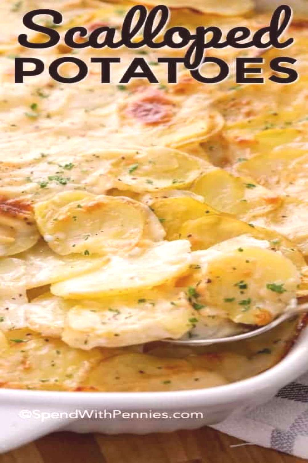 Scalloped Potatoes Recipe - Spend With Pennies -