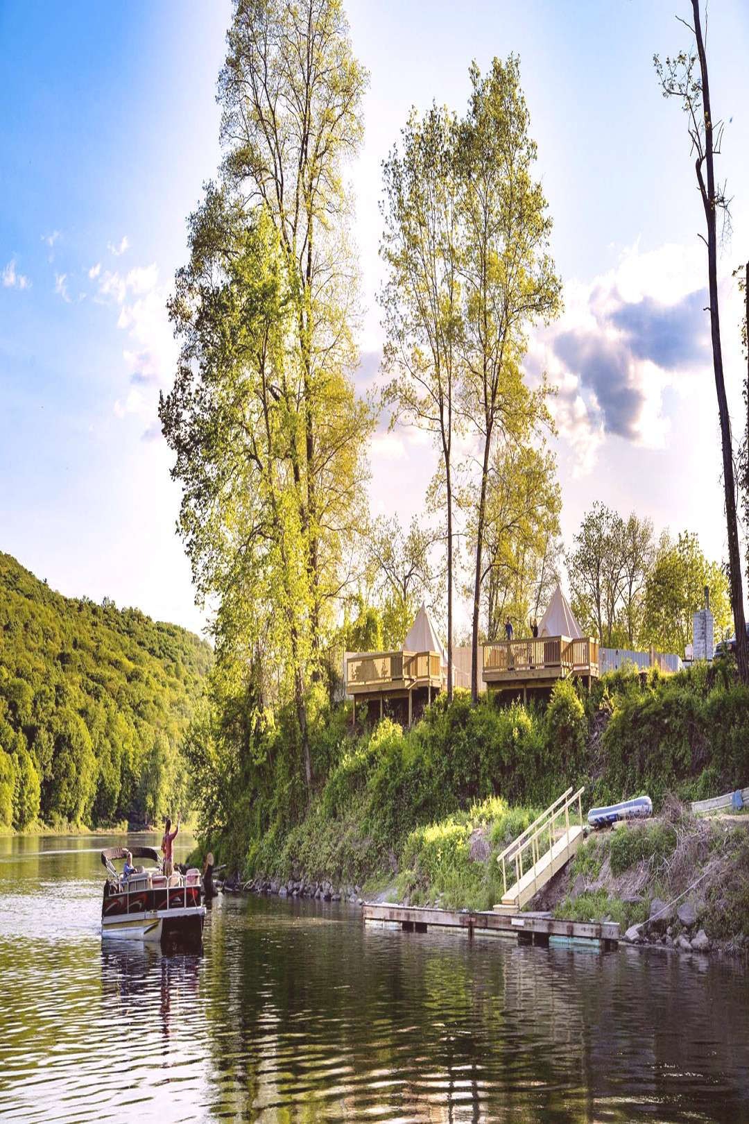 Shawnee Inn amp Golf -- Pennsylvania USA Riverside or Island Glamping with tons of activities and be
