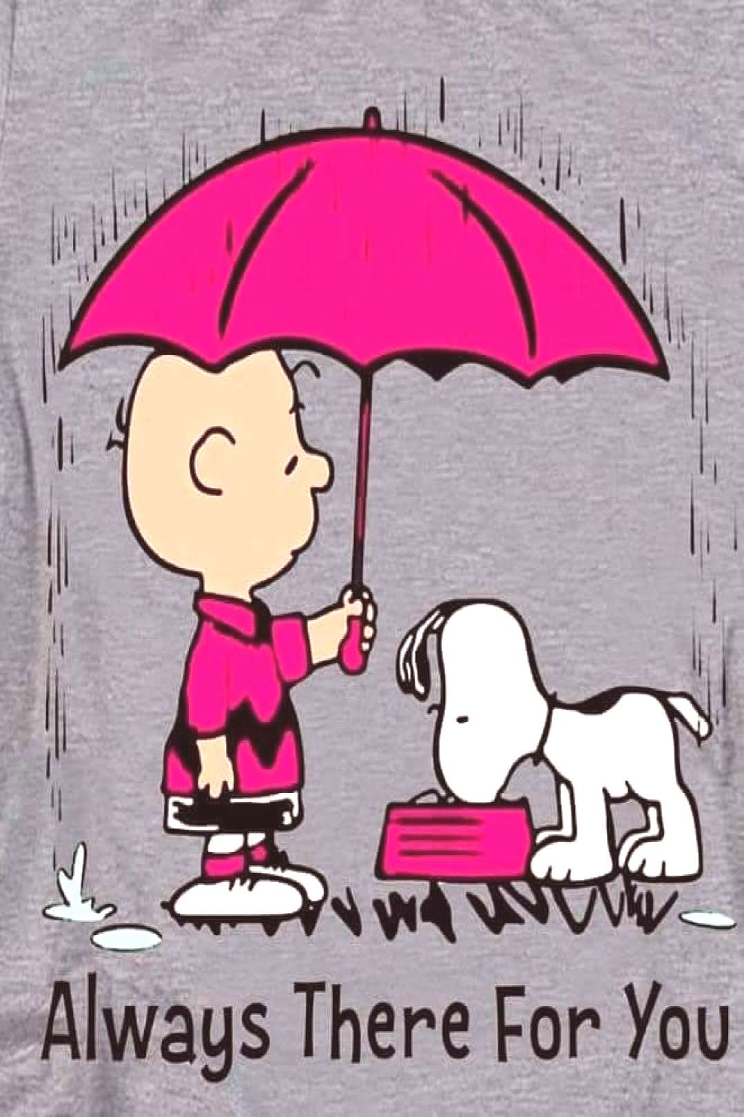 """Snoopy and Charlie Brown on Instagram: """"Always there for you! ? You can count on me ♥️ -"""