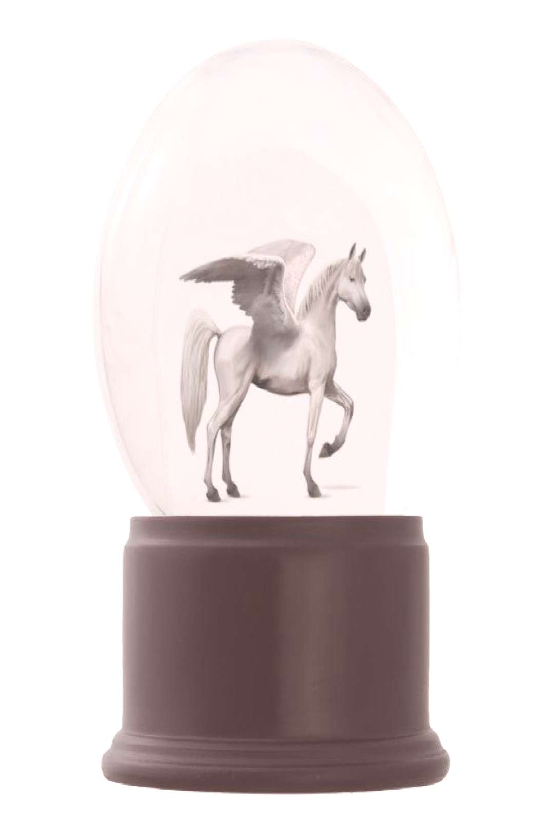Snow Globe - Pegasus White Customize