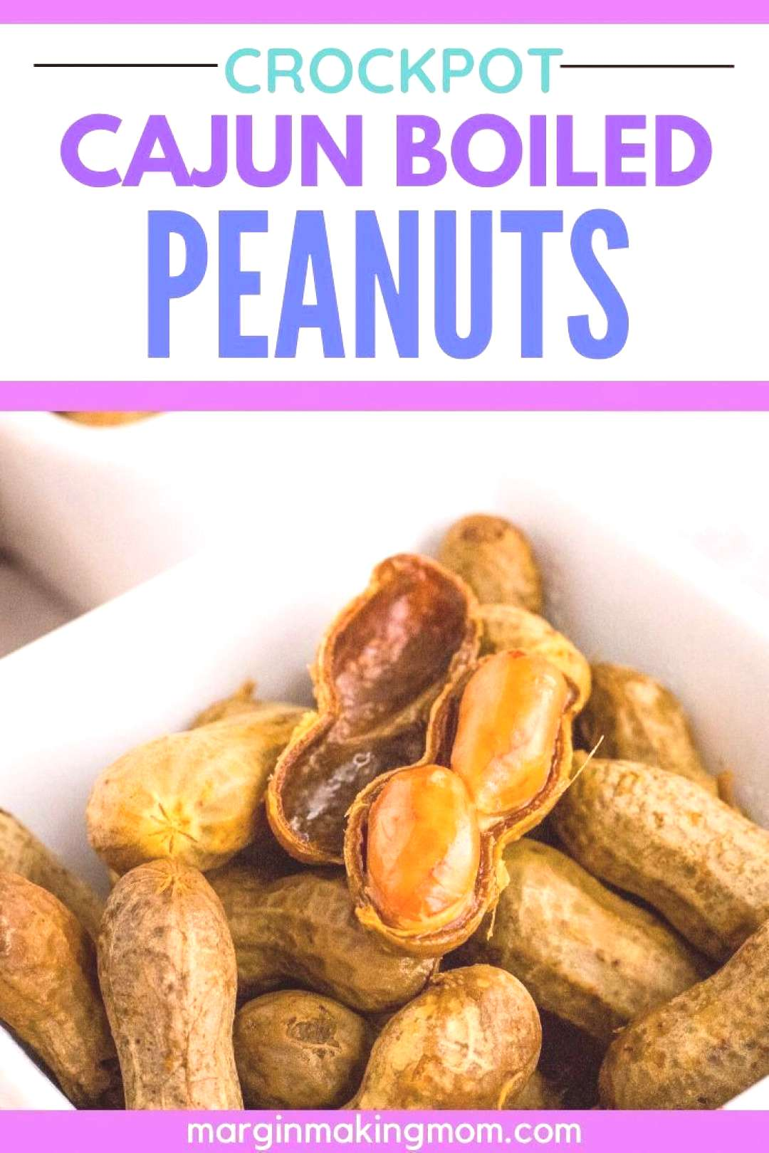 Spicy Cajun boiled peanuts are a great snack and party food--and you can make them in your Crockpot