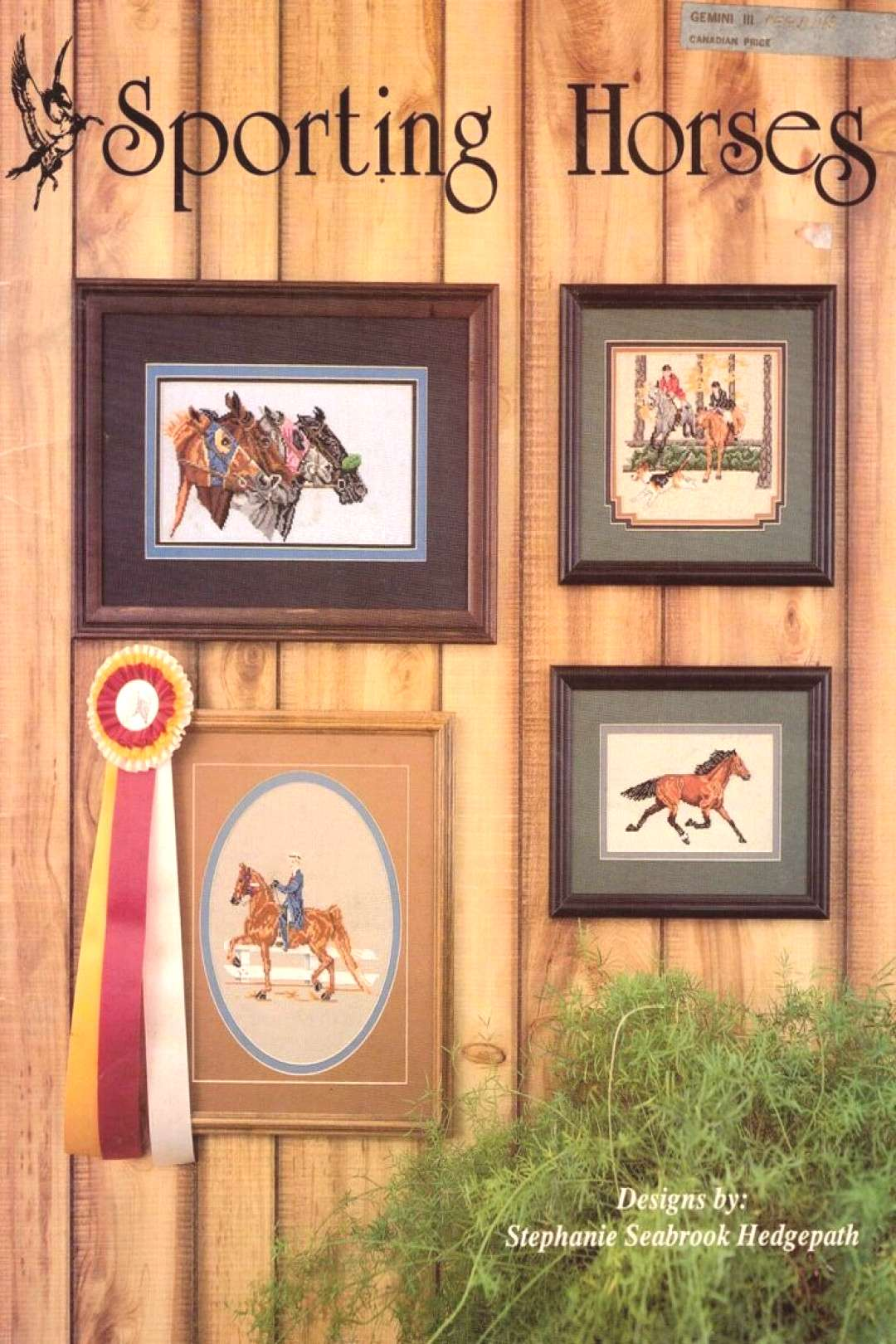 Sporting Horses 8 Cross Stitch Patterns Projects