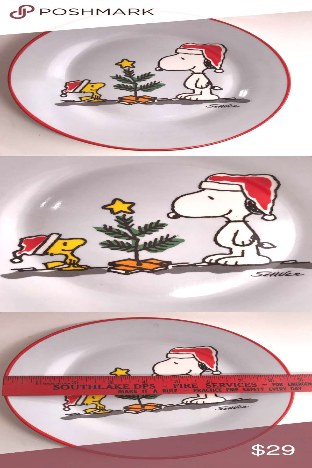 Spotted while shopping on Poshmark: Snoopy Collectors Plate Cartoon Peanuts Worldwide!