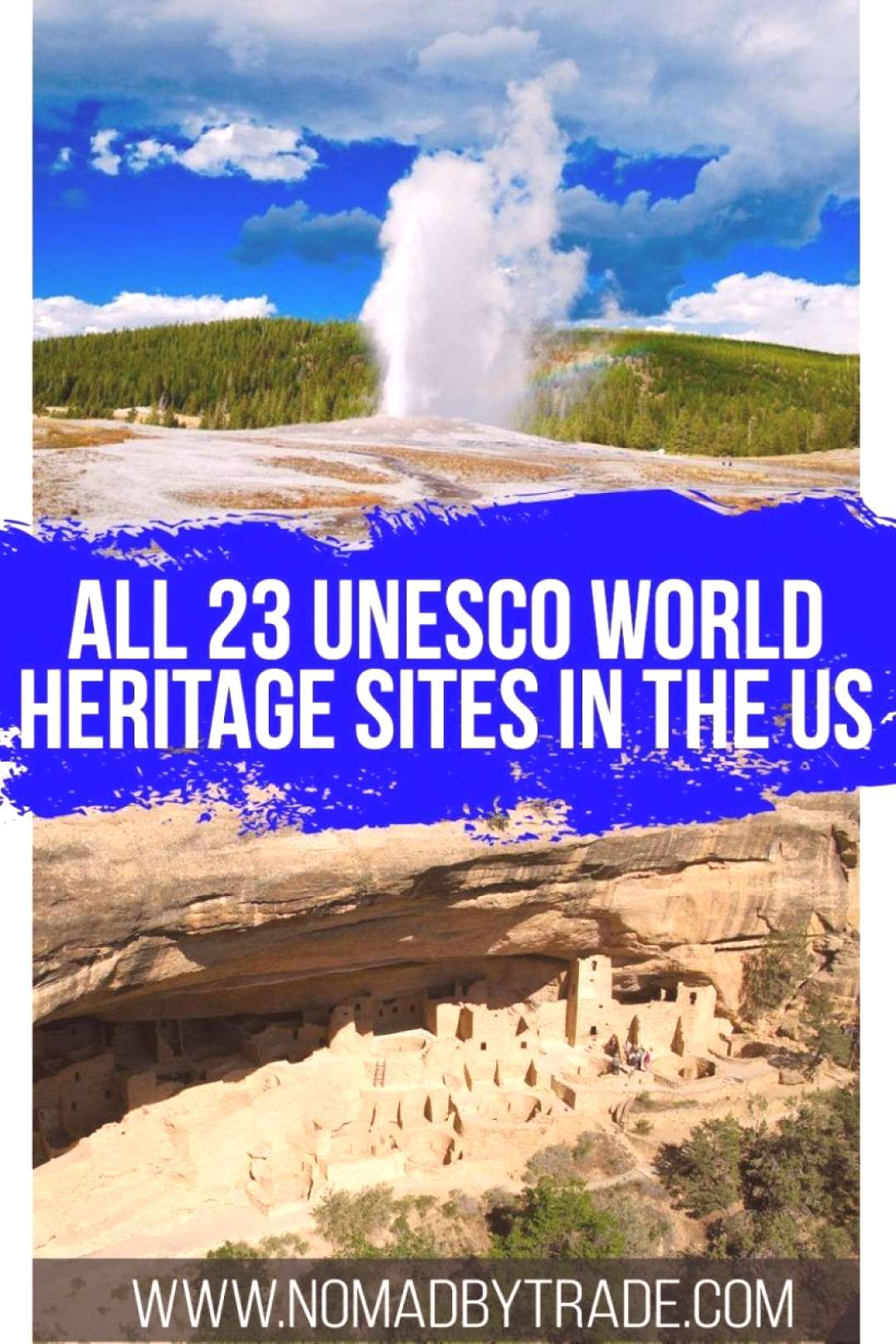 There are 24 UNESCO World Heritage Sites in the United States recognizing cultural and natural heri