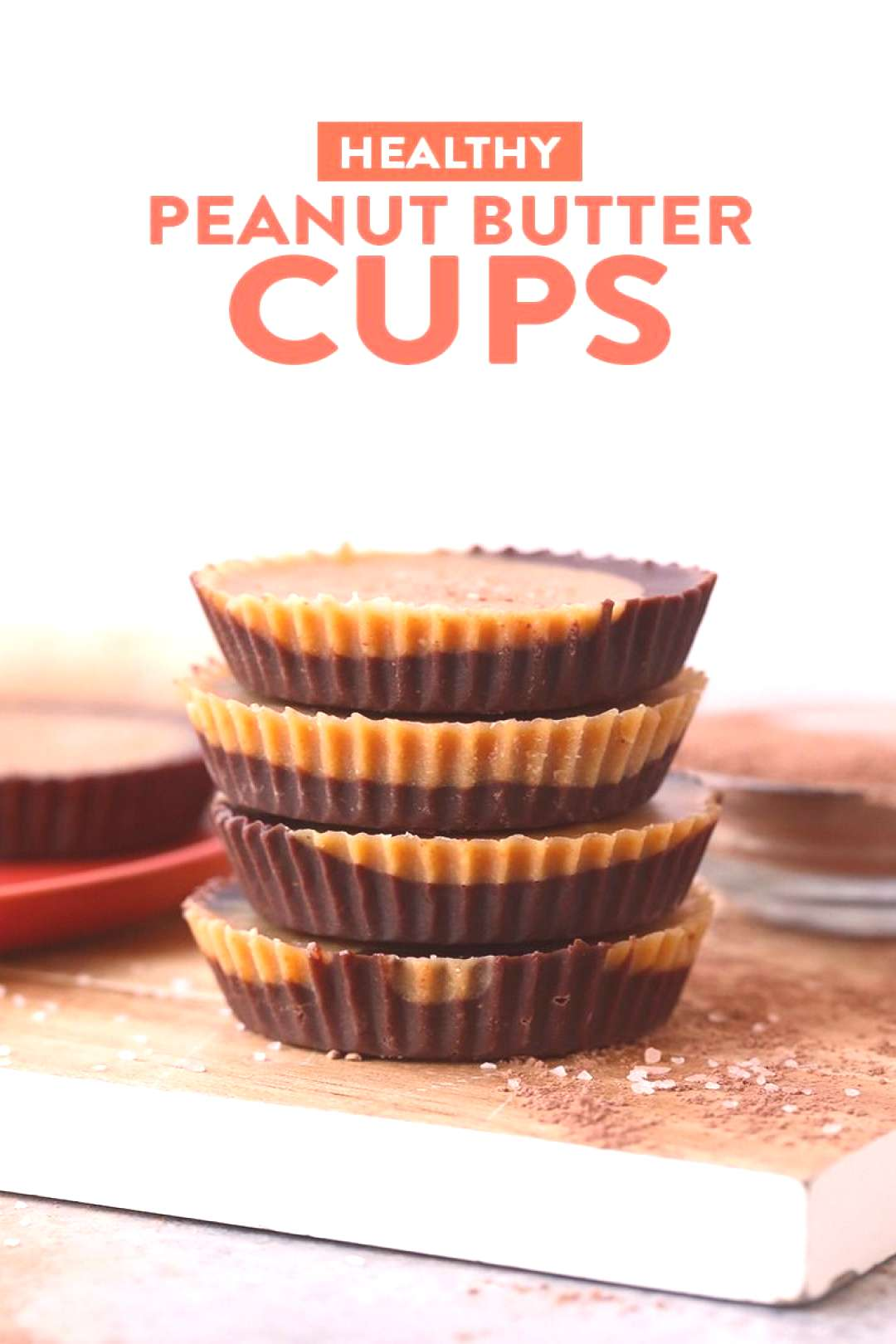 These healthy peanut butter cups are nutritious, delicious and made with good-for-you ingredients.