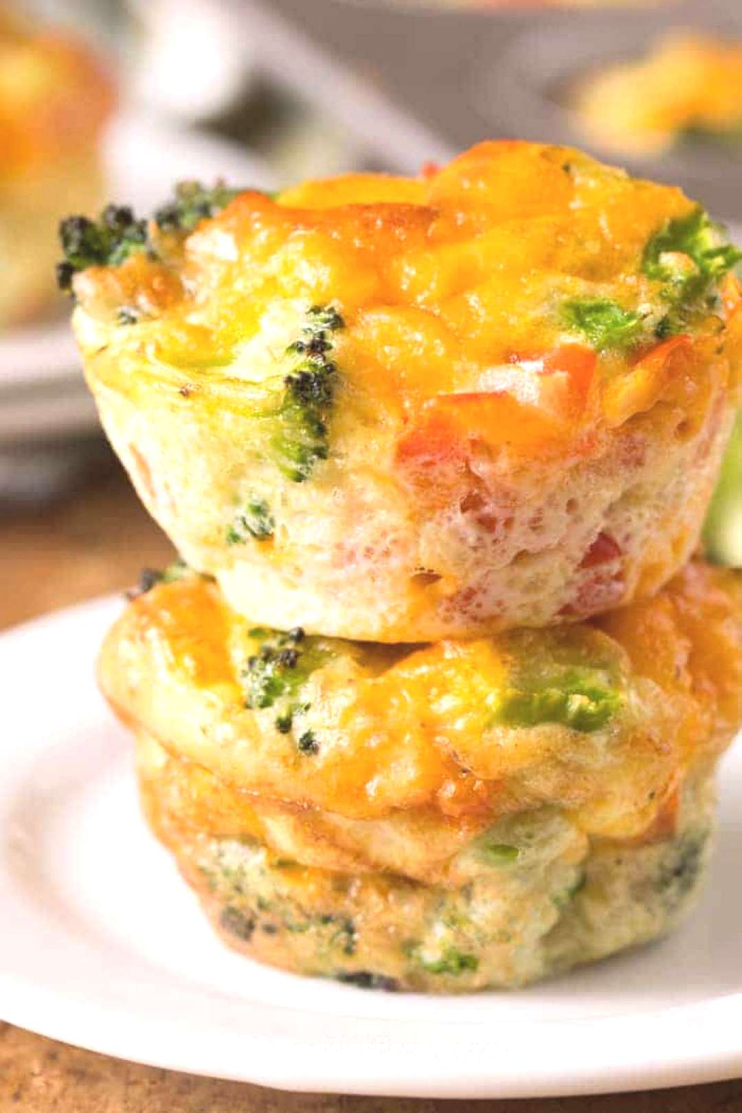 Veggie Egg Muffins - Spend With Pennies Veggie egg muffins feature a mixture of eggs and veggies b