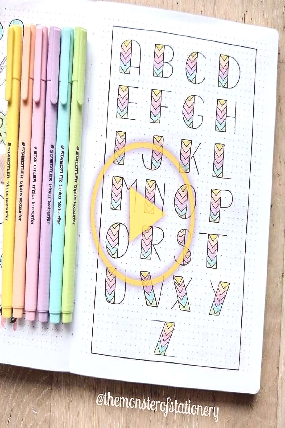 Visit stationery heaven at our shop? Pic credit @themonsterofstationery