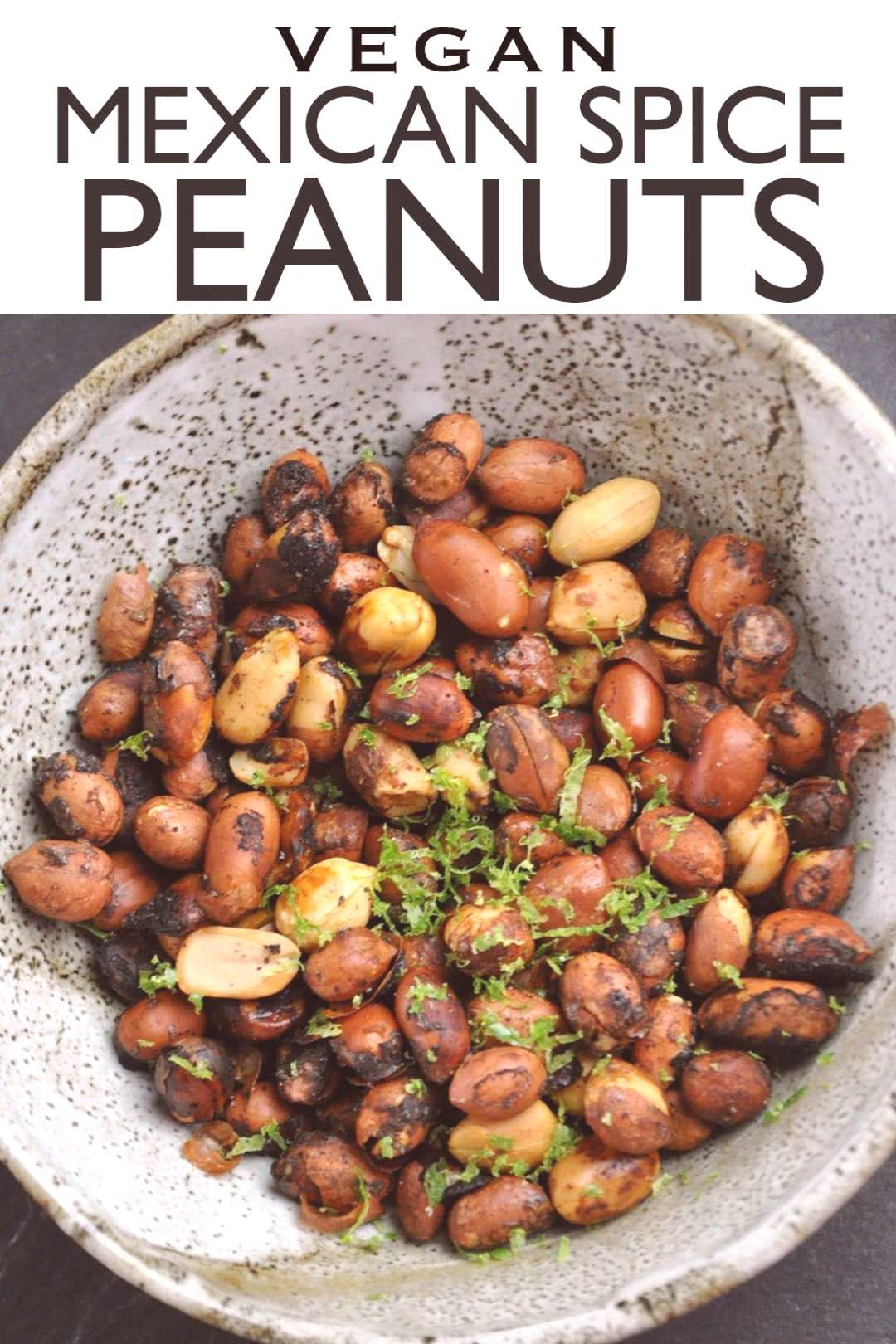 WARNING These Mexican Spice Peanuts are ADDICTIVE! Serve them at your next party and your guests w
